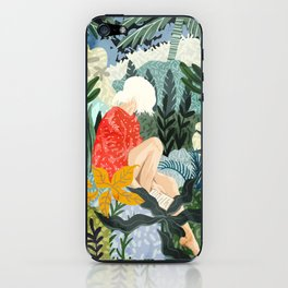 The Distracted Reader iPhone Skin