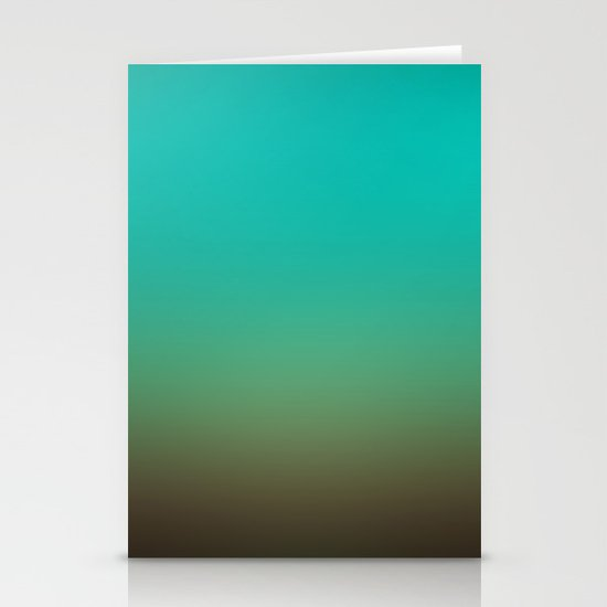 Sunset Gradient 3 Stationery Cards