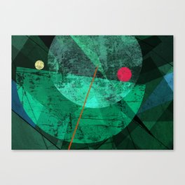 Broken face Canvas Print
