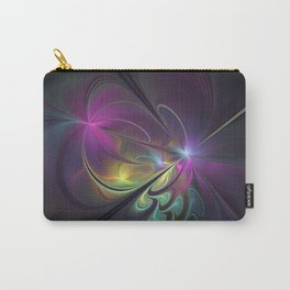 Do Not Go Away From Me, Abstract Art Carry-All Pouch