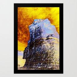 Destroying Art Print