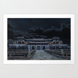 Hue Citadel Art Print