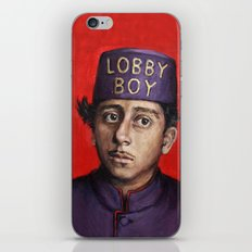Lobby Boy / Grand Budapest Hotel / Wes Anderson iPhone & iPod Skin