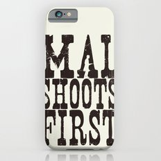 Mal Shoots First Slim Case iPhone 6s