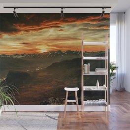Fire Mountain Wall Mural