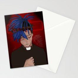 fan art xxxtentacion Stationery Cards