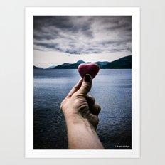 Found Love Art Print