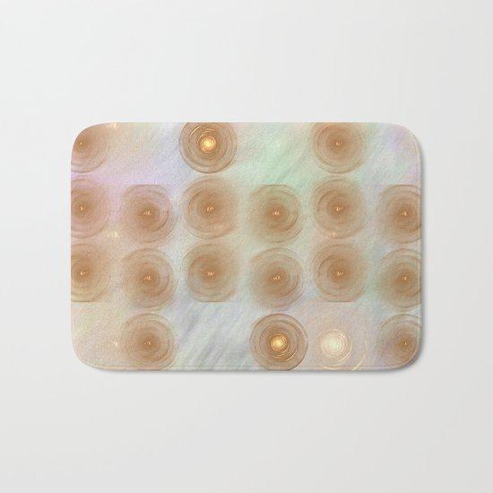 Abstract data crunching Bath Mat