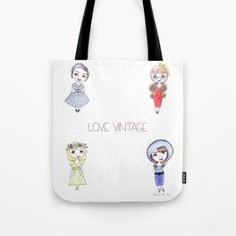 Love Vintage Tote Bag