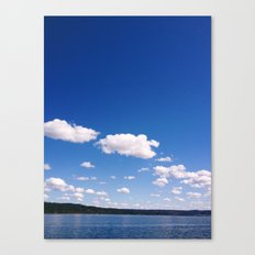 Lake Cayuga, NY Canvas Print