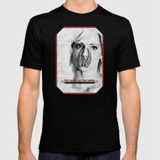the cylons of the lambs Mens Fitted Tee Black SMALL