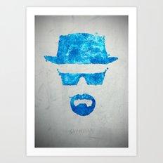 Say my name Art Print