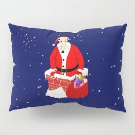 Christmas Whippet Pillow Sham
