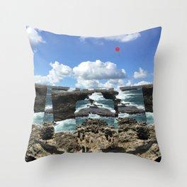 Island Escape Throw Pillow
