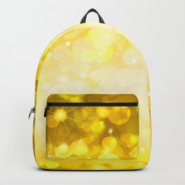 Golden pattern Backpack