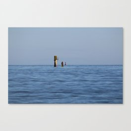 At the sea Canvas Print