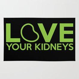 Love Your Kidneys Rug