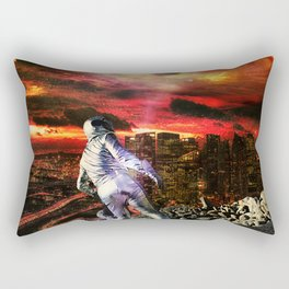 Lost on Earth Rectangular Pillow