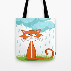I Hate Mondays When It Rains Tote Bag