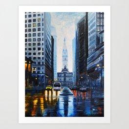 City Hall Philadelphia 2016 Art Print
