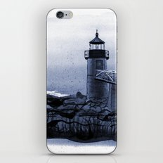 Lighthouse, Marshall Point, Maine iPhone & iPod Skin