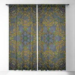 magic mandala 35 #mandala #magic #decor Blackout Curtain