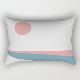 Sunrise at Newton Rectangular Pillow
