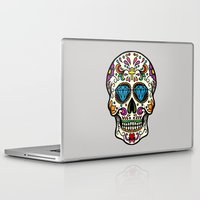 mexican Laptop & iPad Skins featuring Mexican Skull by Pancho the Macho