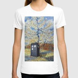 Starry Night of Tardis T-shirt
