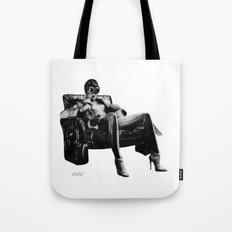 Hot Leather. Tote Bag