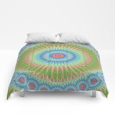 Starry mandala Comforters