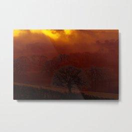 Fog 34 Metal Print