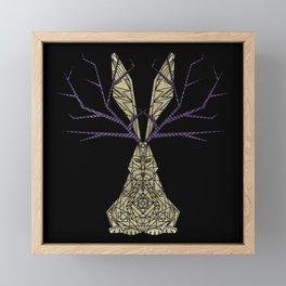 Geometric - Jackalope Framed Mini Art Print
