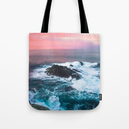 Sunset on the Bay of Biscay Tote Bag