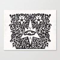 occult Canvas Prints featuring Occult  by Maelstrm