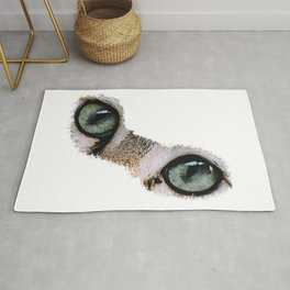 Cat's eyes, cat fan, cat owner, cats Photo Rug