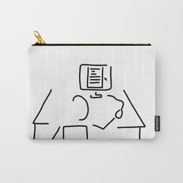 editor technical author script writer Carry-All Pouch