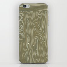 Woodgrain iPhone & iPod Skin