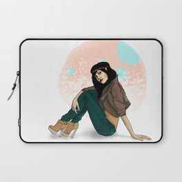 girl with hair band Laptop Sleeve