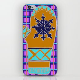 Cozy Up, Winter Cover iPhone Skin