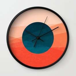 Solar Eclipse Wall Clock