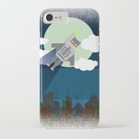 bat man iPhone & iPod Cases featuring Bat Man by voskovski
