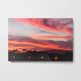 Fire in the Sky (2) Metal Print
