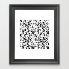 Pixels Framed Art Print