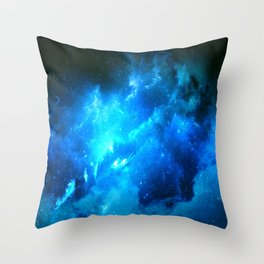 Lost Nebula Throw Pillow