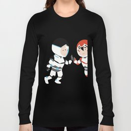 SHEITH, BLACK PALADINS BORN TO BE TOGETHER Long Sleeve T-shirt