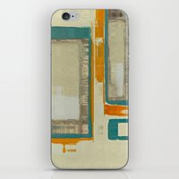 mid century iPhone & iPod Skins featuring Mid Century Modern Abstract by Corbin Henry