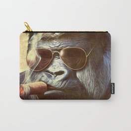 Gorilla in the Mist Carry-All Pouch