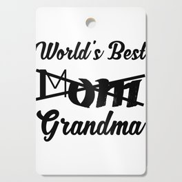 World's Best Mom Grandma - Grandma To Be Cutting Board