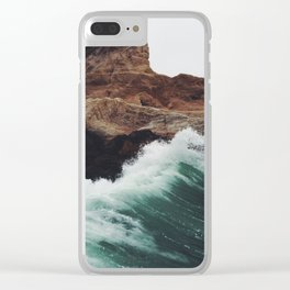 Montaña Wave Clear iPhone Case